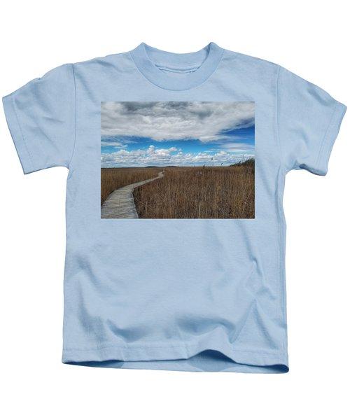 Marsh Walk 3 Kids T-Shirt