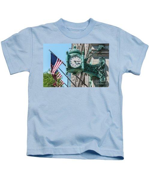 Marshall Field's Clock Kids T-Shirt