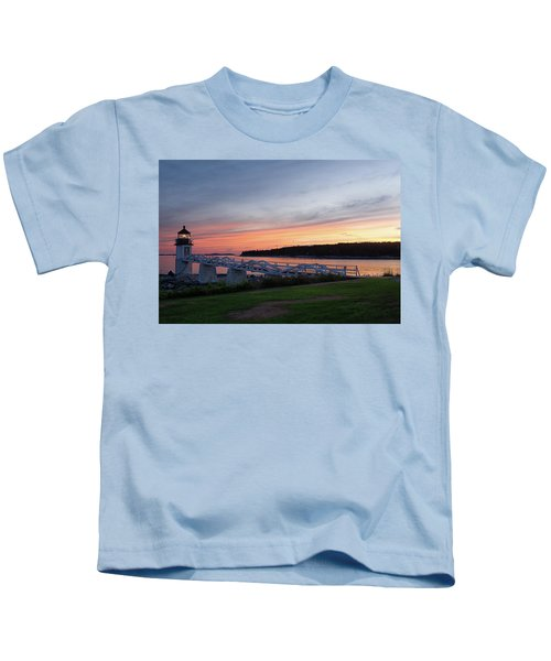 Marshall Point Lighthouse, Port Clyde, Maine -87444 Kids T-Shirt