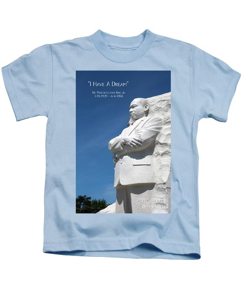 Martin Luther King Jr. Monument Kids T-Shirt
