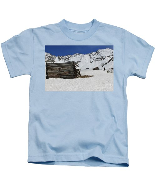 Mayflower Gulch Winter 3 Kids T-Shirt