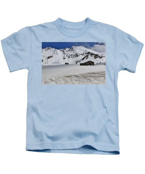 Mayflower Gulch Winter 4 Kids T-Shirt