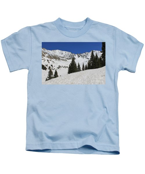 Mayflower Gulch Winter Kids T-Shirt