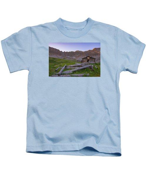 Mayflower Homestead Kids T-Shirt