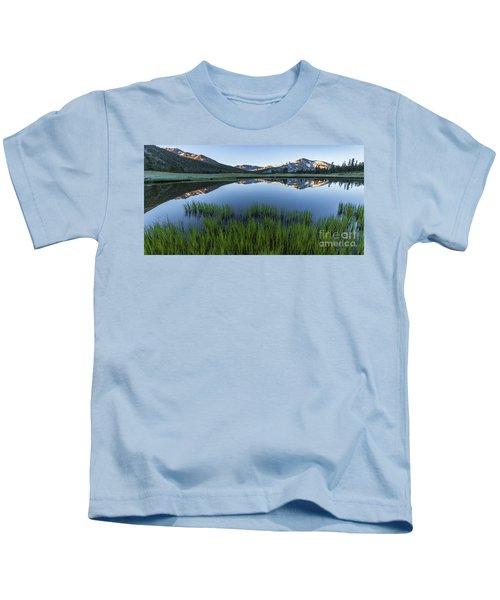 Meadow Reflections  Kids T-Shirt