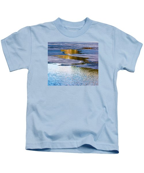 Meandering Towards Spring Kids T-Shirt