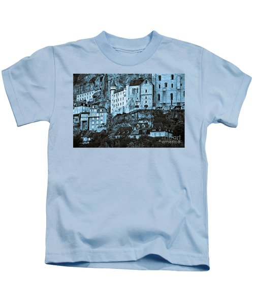 Medieval Castle In The Pilgrimage Town Of Rocamadour Kids T-Shirt