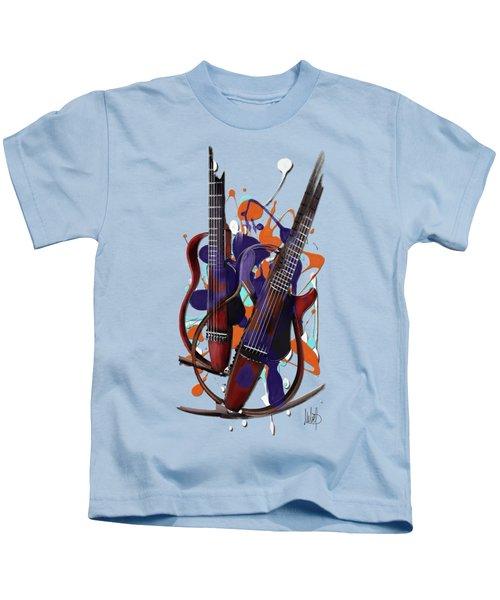 Melting Notes Kids T-Shirt