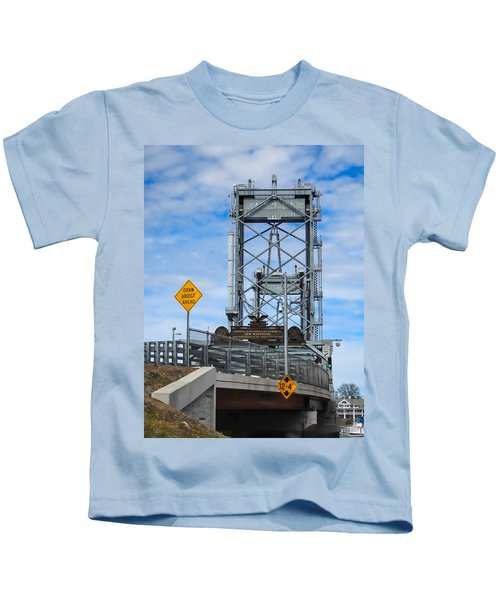 Memorial Bridge Portsmouth  Nh Kids T-Shirt