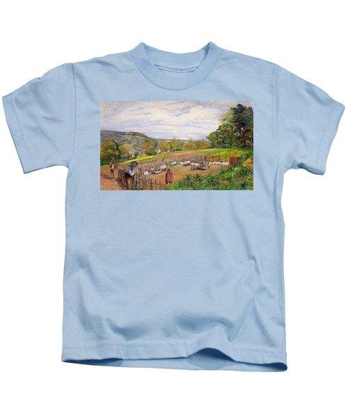 Mending The Sheep Pen Kids T-Shirt