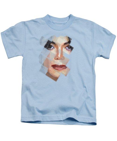 Michael Jackson T Shirt Edition  Kids T-Shirt by Yury Malkov