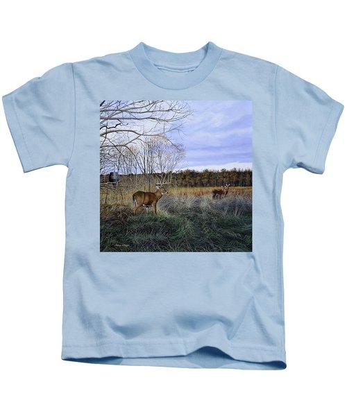 Take Out - Deer Kids T-Shirt