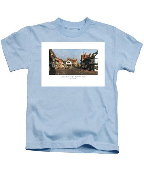 Middle Row East Grinstead Kids T-Shirt