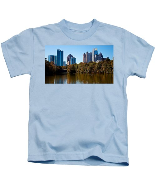 Midtown In The Fall Kids T-Shirt