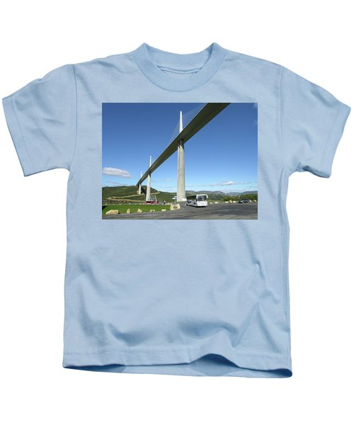 Millau Viaduct Kids T-Shirt
