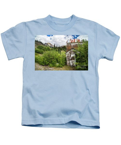 Mining Home In Silverton Kids T-Shirt