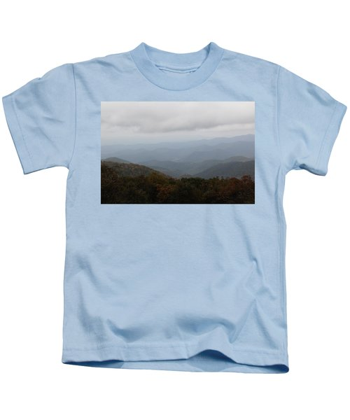 Misty Mountains More Kids T-Shirt