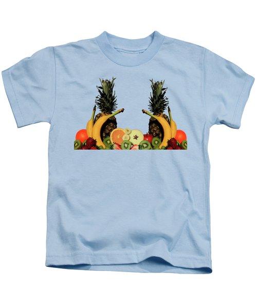 Mixed Fruits Kids T-Shirt