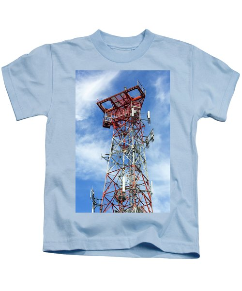 Mobile Phone Cellular Tower Kids T-Shirt