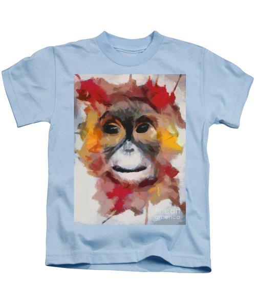 Monkey Splat Kids T-Shirt