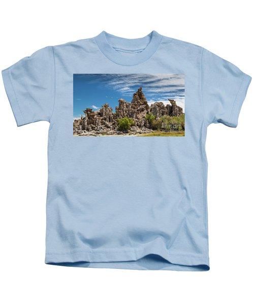 Mono Lake Tufa Kids T-Shirt