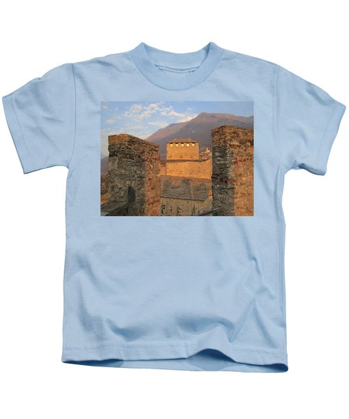 Montebello - Bellinzona, Switzerland Kids T-Shirt
