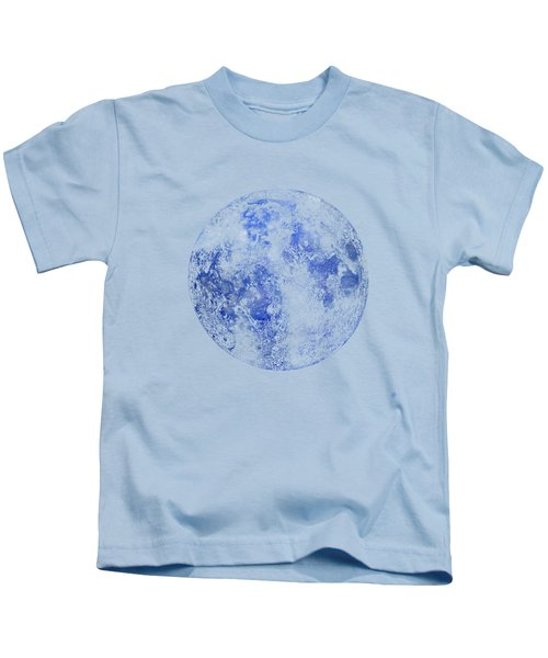 Moon Map Kids T-Shirt