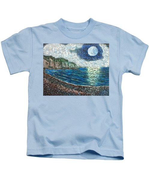 Moonlight In Pourvill Kids T-Shirt