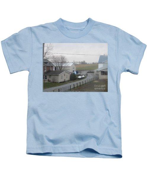 Morning Chores Kids T-Shirt
