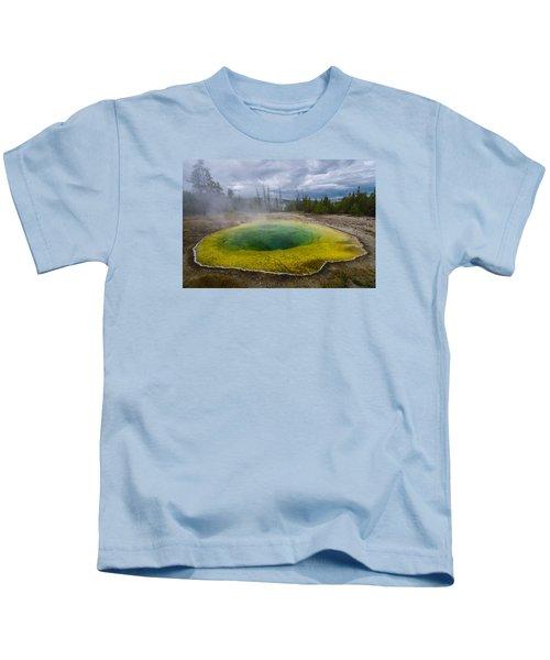Morning Glory Pool Kids T-Shirt