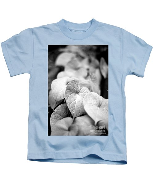 Morning Glory Vines Kids T-Shirt