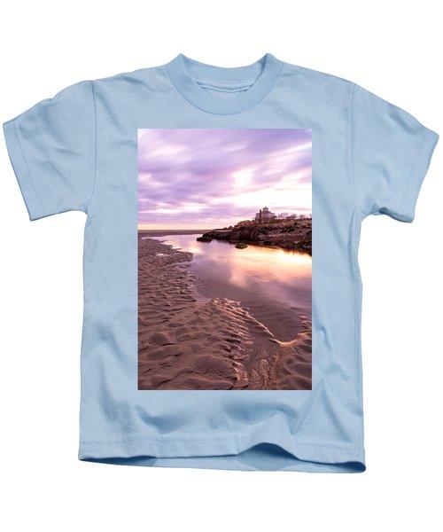 Morning Glow Good Harbor Kids T-Shirt