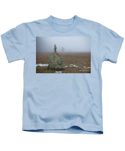 Morning Meditation Kids T-Shirt