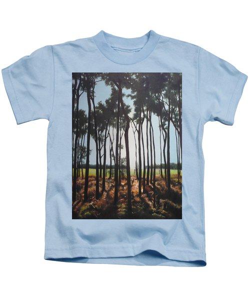 Morning Walk. Kids T-Shirt
