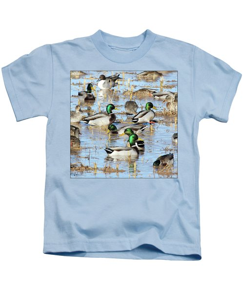 Mostly Mallards Kids T-Shirt