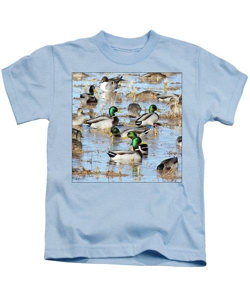 Mostly Mallards Kids T-Shirt