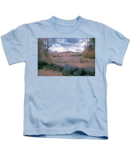 Mount Monadnock In Infrared Kids T-Shirt
