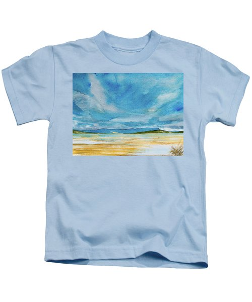 View Of Mount Wellington From South Bruny Island Kids T-Shirt