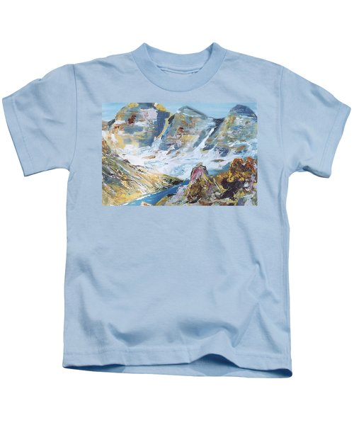 Mountain Done With Knife Kids T-Shirt