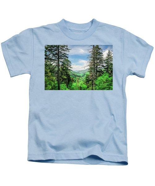 Mountain Forest Kids T-Shirt