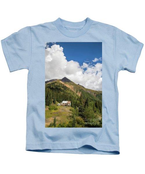 Mountain Mining Home Kids T-Shirt