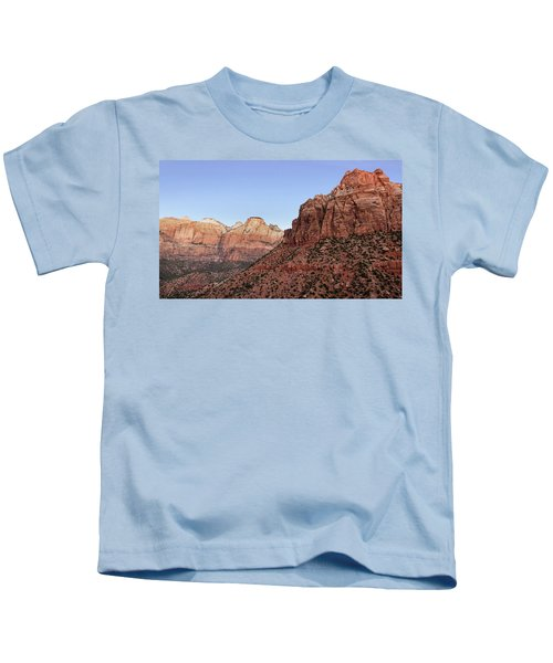 Mountain Vista At Zion Kids T-Shirt