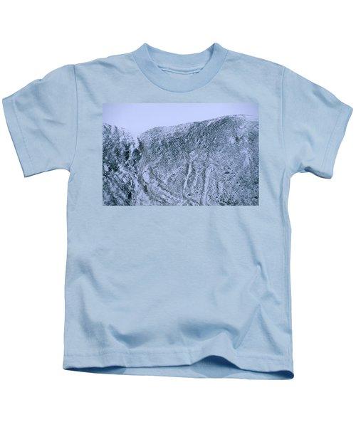Mountainside As Marble Stone Kids T-Shirt