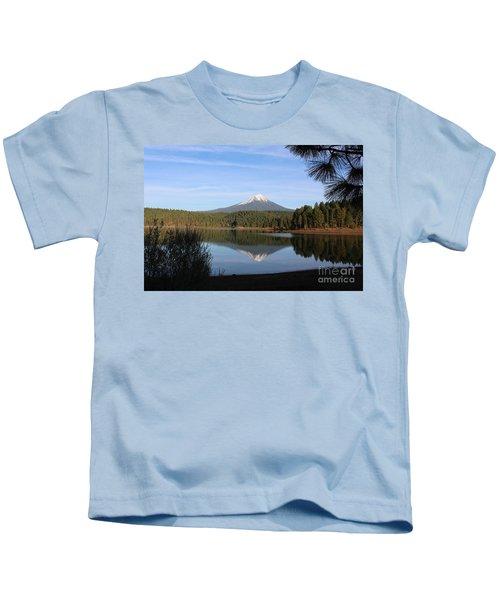 Mt Mclaughlin Or Pitt Kids T-Shirt