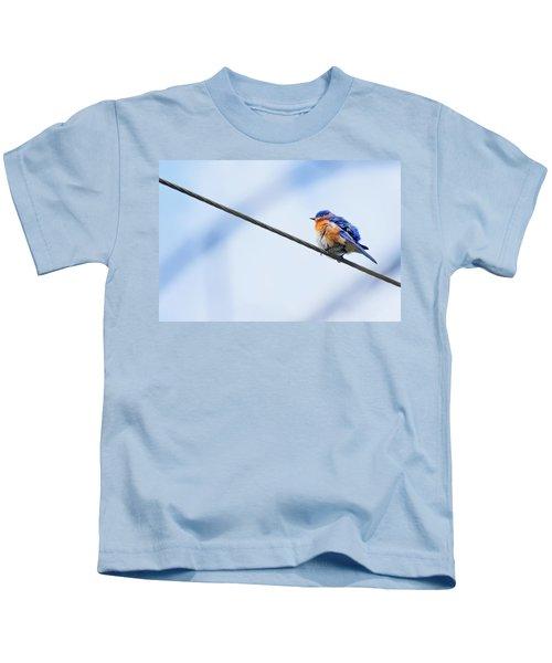 My Little Bluebird Of Happiness Kids T-Shirt