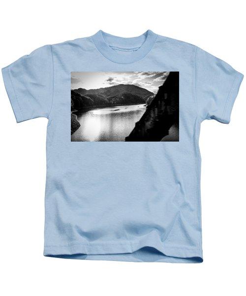 Nantahala River As Seen From The Great Smokey Mountain Railroad Kids T-Shirt