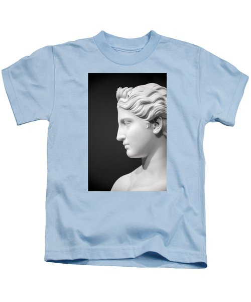National Portrait Gallery Statue Profile Kids T-Shirt