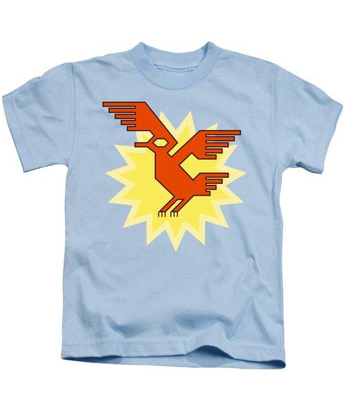 Native South American Condor Bird Kids T-Shirt