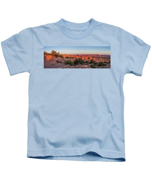 Navajo Land Morning Splendor Kids T-Shirt