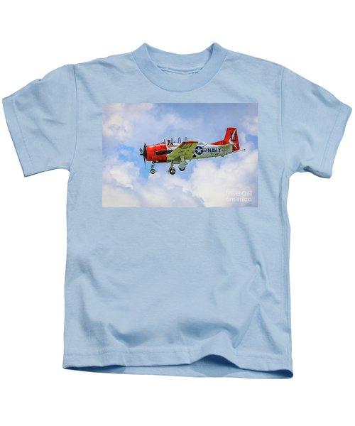 Navy Trainer #2 Kids T-Shirt